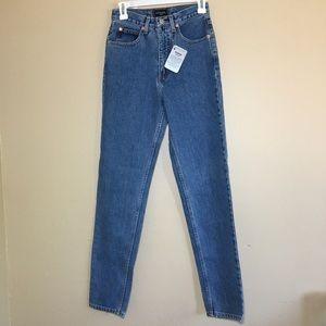 Guess vintage super Highwaist skinny tapered jeans